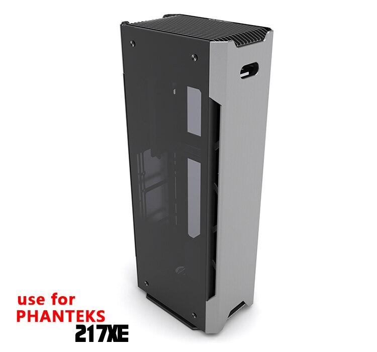 Купить с кэшбэком Barrow Acrylic Board Water Channel Solution kit use for PHANTEKS 217XE Computer Case / for CPU and GPU Block / Instead reservoir