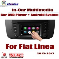 Car Radio DVD Player GPS Navigation For Fiat Linea 2013~2017 Android HD Displayer System Audio Video Stereo In Dash Head Unit