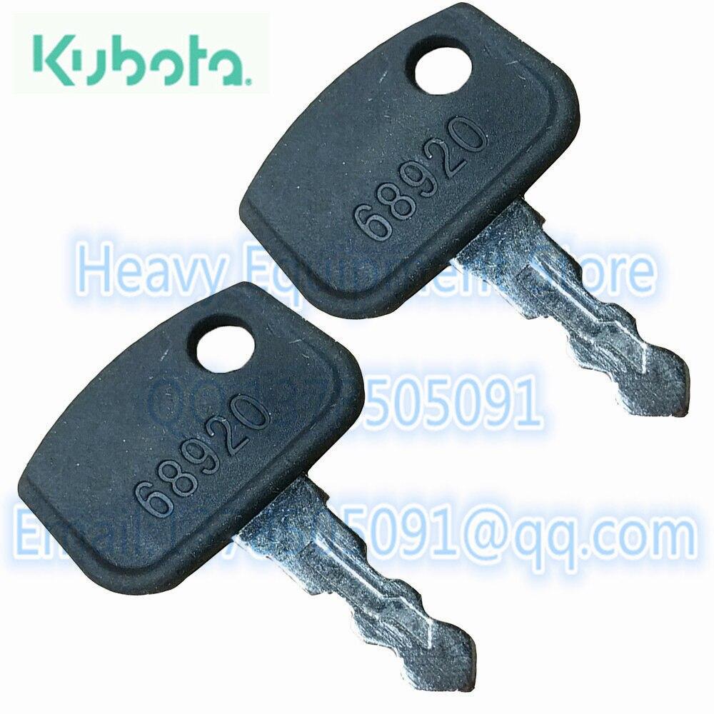 KUBOTA IGNITION KEY  PL501-68920