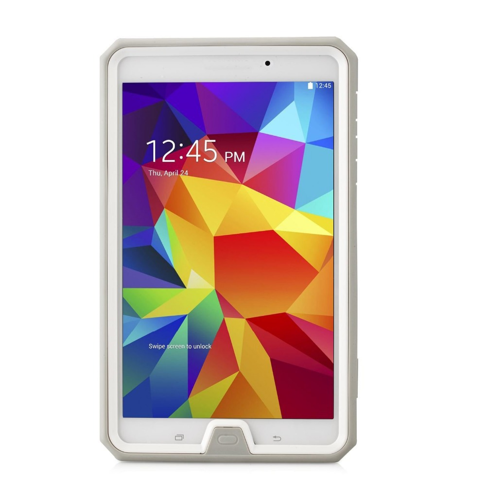 For Samsung Galaxy Tab 4 7.0,Joylink Heavy Duty Dual Layer Complete Protection Hybrid Case with Built-In Screen Protector Case