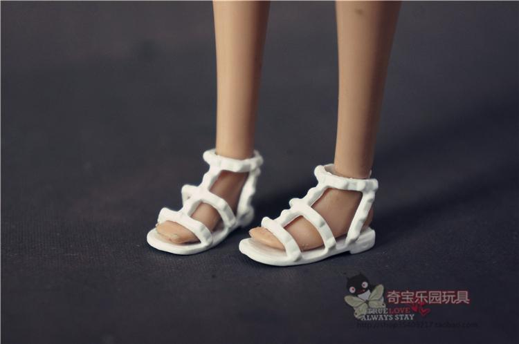Fashion Shoes For Barbie Doll Original 1/6 Bjd 1 Pair Shoes Boneca Zapatos Lalka For Barbies Princess Baby Plastic Accessories