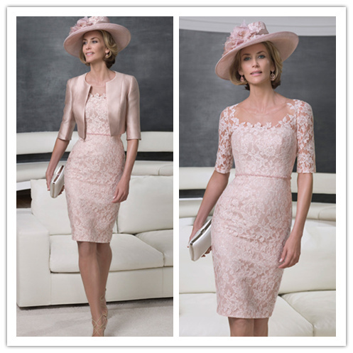 Coral Mother of the Groom Dresses