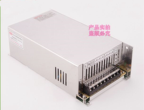 Metal case type 600 watt 30 volt 20 amp AC/DC switching power supply 600W 30V 20A AC/DC switching industrial transformer