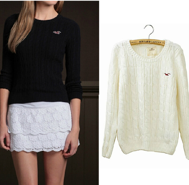 Free Shipping Hot Sale 2015 Autumn New Brand Knitted Sweater Seagull