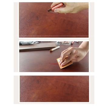 6pcs In Un Pacchetto Touch-up Pastelli Bastone Di Cera Di Riempimento Graffi Ammaccature In Mobili In Legno Pavimenti