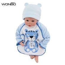 1 PC Cartoon Baby Bibs Burp Cloths Cute Toddler Baby Stuff Children Kids Long Sleeve Smock Waterproof Baby Feeding Clothing
