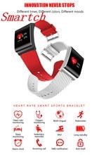 Smartch X9 Pro Цвет ЖК-дисплей смарт-браслет шагомер Presión arterial кислорода сердечного ритма Мониторы cardiaco Смарт-фитнес браслет