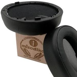Image 2 - Misodiko cojines de repuesto almohadillas para los oídos para Sony MDR 100A MDR 100AAP/ h. Ear on 2 MDR H600A, piezas de reparación de auriculares Earpads Cup