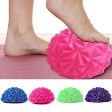 16*8cm foot message ball PVC Soles Hedgehog Sensory Training Grip the Ball Portable Physiotherapy healthy care