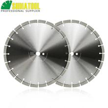 цена на SHDIATOOL 2pcs Dia 14inch/354mm Laser Welded Arrayed Diamond Blade Cutting Disc Saw blades Reinforced Concrete Diamond Wheel