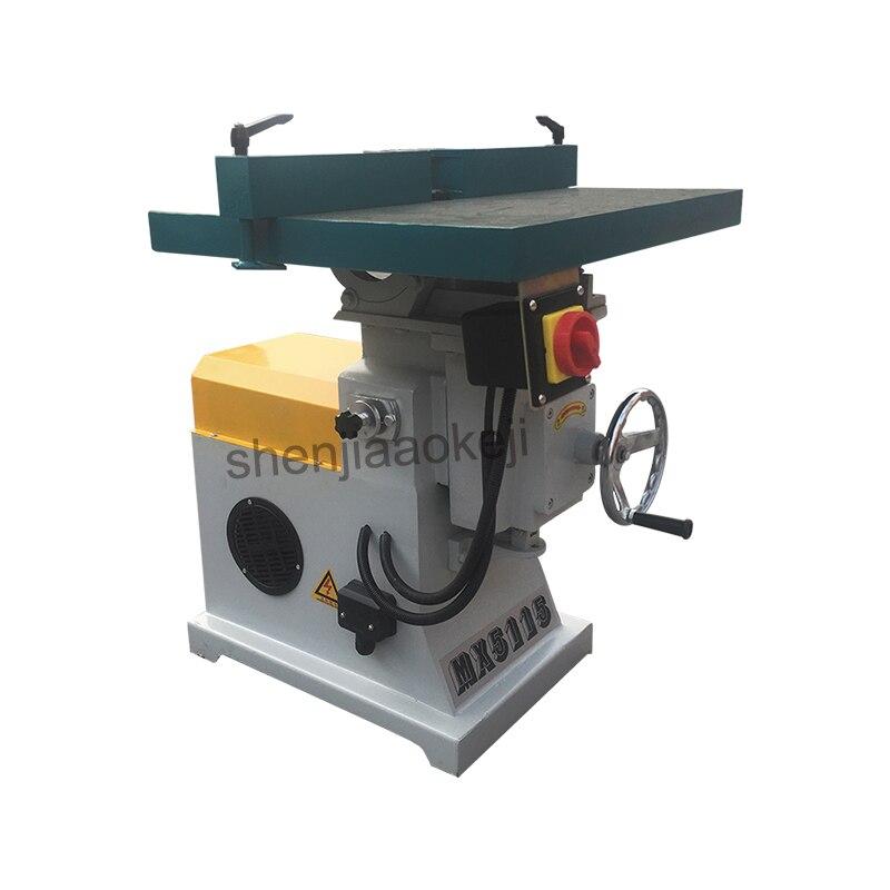 380 v/220 v verticale haute vitesse bois routeur broche shaper machine bureau fraiseuses machine de découpage matériel de travail du bois