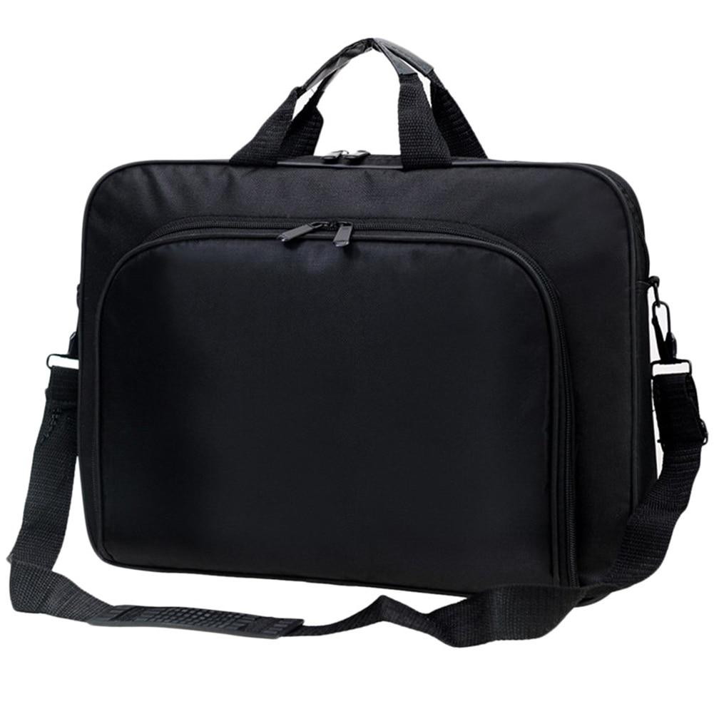 15 inch Laptop Notebook Shoulder Bag Portable Men Women Business Handbag Gift jacodel business large crossbody 15 6 inch laptop briefcase for men handbag for notebook 15 laptop bag shoulder bag for student