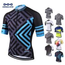 0d49c6fd9b7 Camiseta de Ciclismo de sublimación completa más reciente Europea  transpirable azul cómodo ropa de bicicleta de