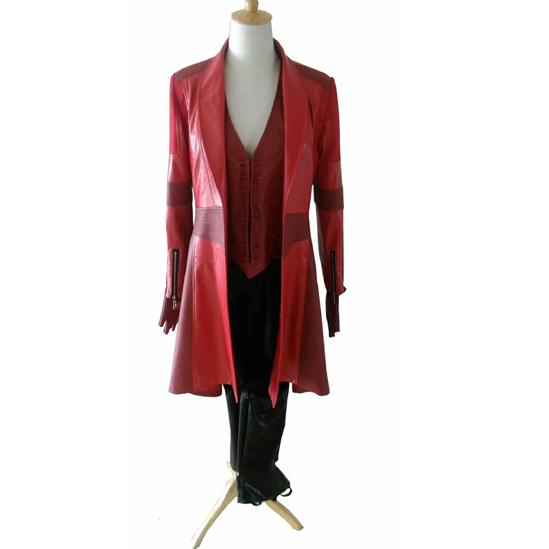 все цены на 2018 Avengers Age of Ultron Wanda Maximoff Scarlet Witch Cosplay Costume Adult Halloween Avengers Superhero Scarlet Witch costum