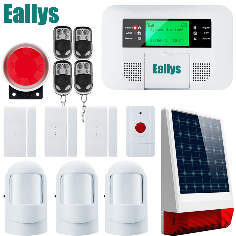 G4B Super better PSTN GSM Alarm Systems Android IOS APP Alarms Home Security System for your home g4b gsm pstn home burglar alarm system more convenient portable home alarm system great design for a better safety life
