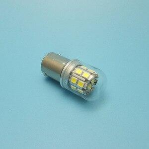 Image 5 - MIDCARS G18 BA15S 6V 12V R5W Led lampen P5W Remlichten Tail Turn Licht Lamp parking Reserve licht bron