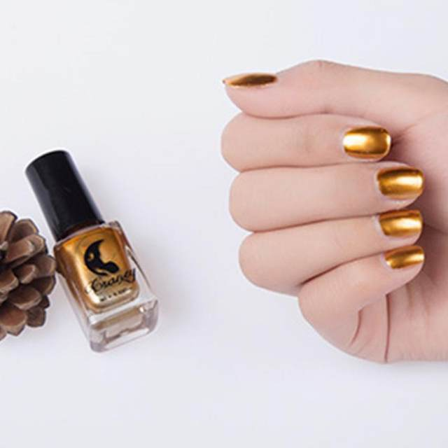 Tienda Online 7 colores oro plata espejo metálico Esmaltes de uñas ...