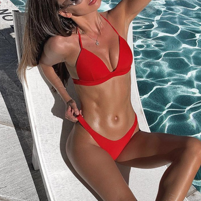 Swimsuit Bikini Bikinis 2019 Mujer Bikini Push Up Women's Swimming Suit Swimsuit Swimwear Women Bathing Swim Suit Two Pieces