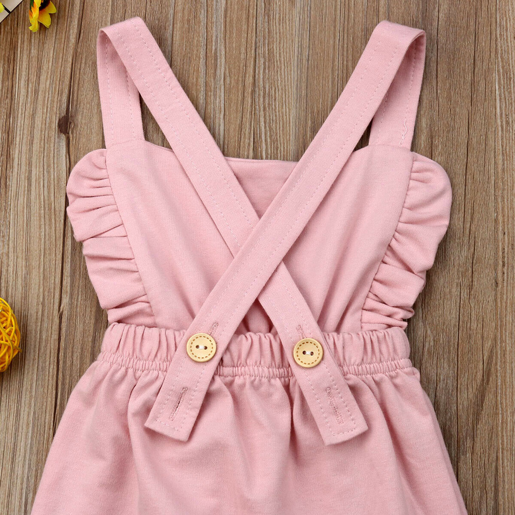 HTB14CGNQAzoK1RjSZFlq6yi4VXaO Newborn Baby Girl Boy Backless Striped Ruffle Romper Overalls Jumpsuit Clothes Onesies kid clothing toddler clothes baby costume