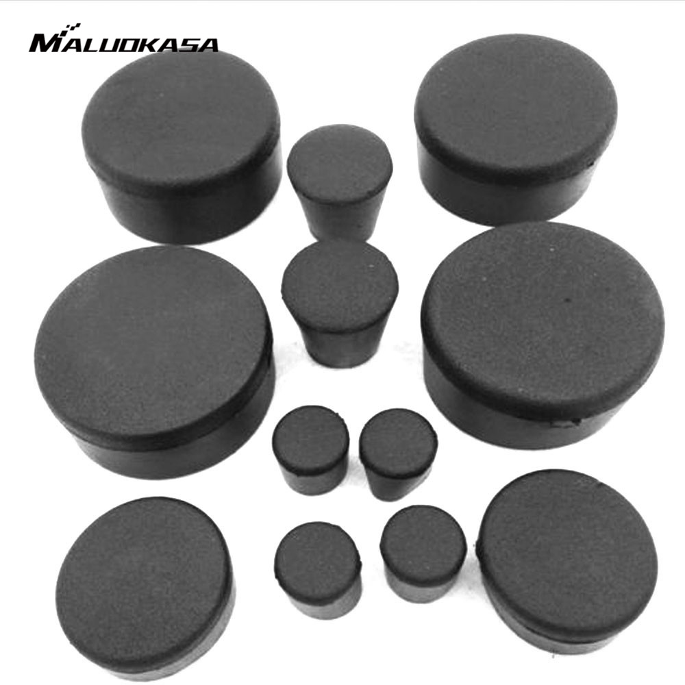 MALUOKASA 12Pcs/Set Rubber Motorcycle Frame Fairings Plugs Set For Suzuki GSXR 1000 2007 2008 Decoration Frame Plugs Caps Parts aftermarket free shipping motorcycle parts eliminator tidy tail for 2006 2007 2008 fz6 fazer 2007 2008b lack