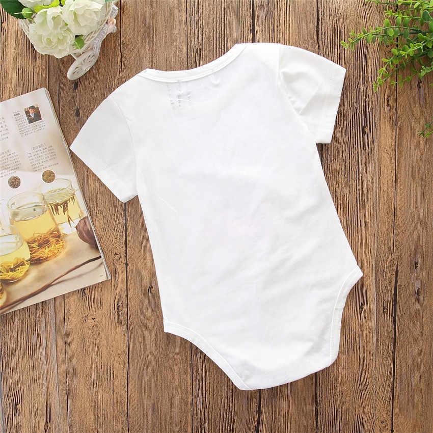 Mommy dan Saya Pakaian Musim Panas Pendek Lengan Keluarga Ibu dan Bayi T-shirt Yang Sesuai dengan Pakaian Floral Huruf Keluarga Terlihat