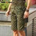 Cargo Shorts Men army green Summer Cotton Casual Men Short Pants Men's Clothing Loose Fashion Men Cargo Shorts Brand MK-7191A