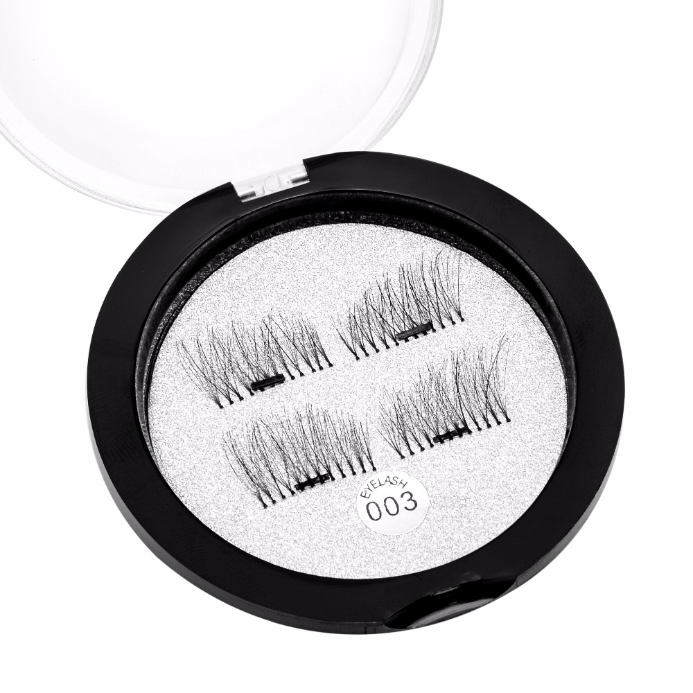 b510fd32b03 New Magnetic False Lash Strips False Eyelashes Reusable Lashes Simple Apply  Magnet Makeup Time Saver 003-in False Eyelashes from Beauty & Health on ...