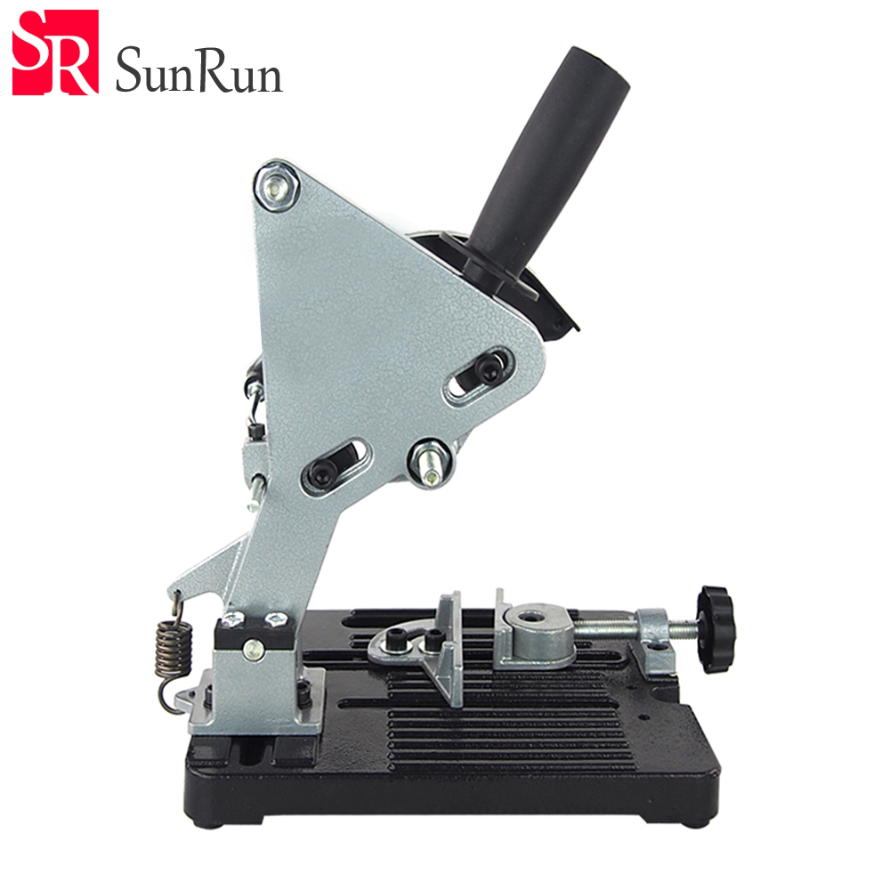 AMYAMY Angle Grinder Holder Angle Grinder Stand bracket Wood Stone Metal Cutting Machine Frame Hand Tool Power Tools Accessories hoomall angle grinder dedicated cutting seat stand machine bracket rod table cover shield safety woodworking tools accessories