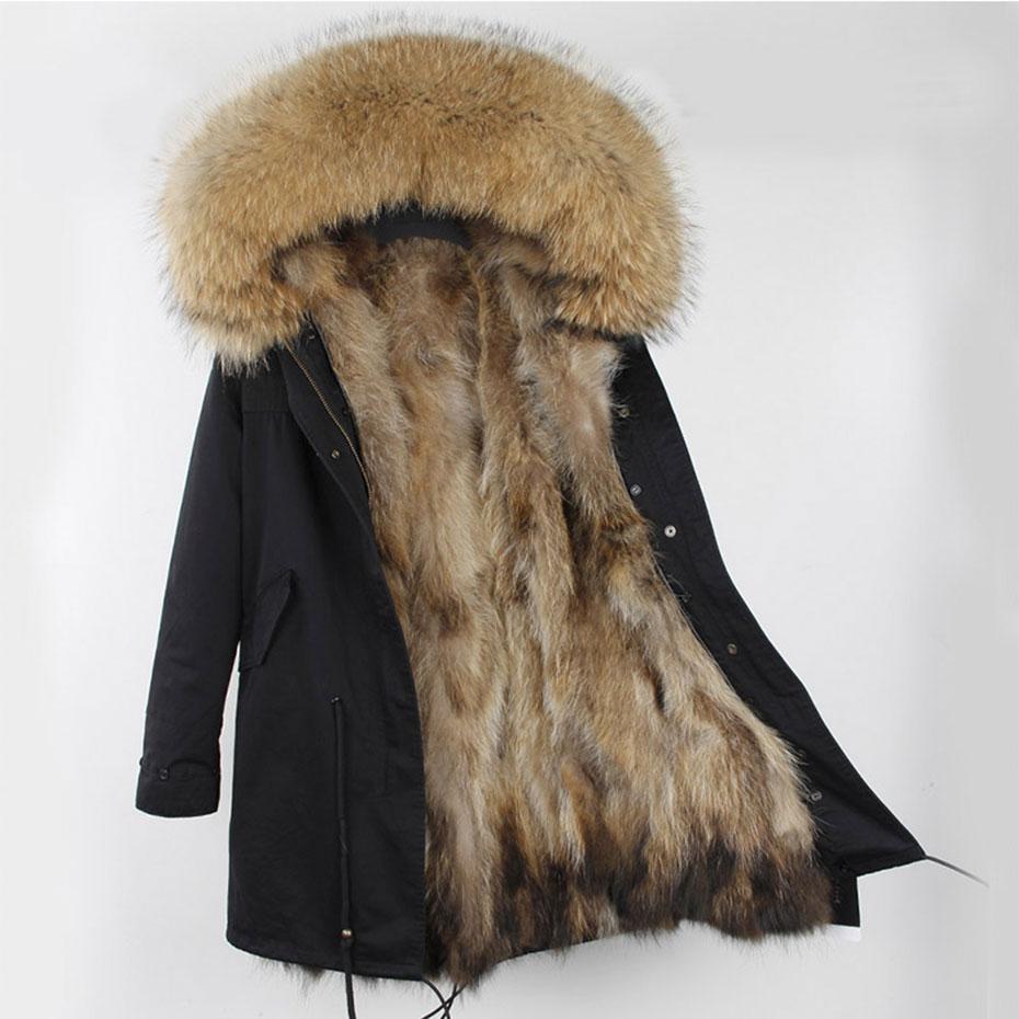 Hooded Fur parka (1)