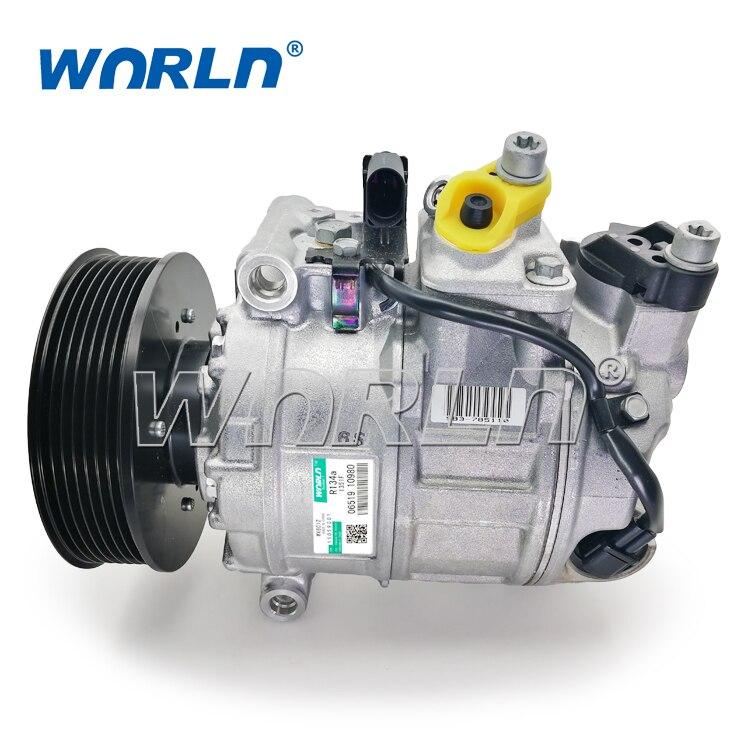 Auto AC Compressor for Audi A8/VOLKSWAGEN TOUAREG 4.2L FSI V8 TRANSPORTER 437100-5450/447190-7600/DCP32051/7L6820803E/7L6820803H