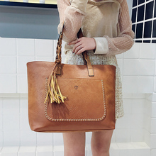 PU Leather Large Handbag