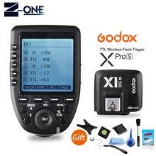 재고 있음 godox xpro s ttl ii 2.4g x 시스템 무선 제어 원격 트리거 X1R S 컨트롤러 수신기 소니 플래시