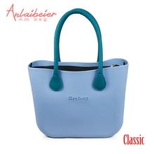3399daca5eb4 ANLAIBEIER Obag O Bag Style Waterproof Classic Ambag Women s DIY EVA Handbag  with Lining Insert Colorful