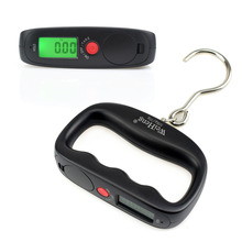 NEWACALOX 50kg x 10g Mini Portable Electronic Scale Weight Luggage Scale Digital Fishing Travel Stainless Steel