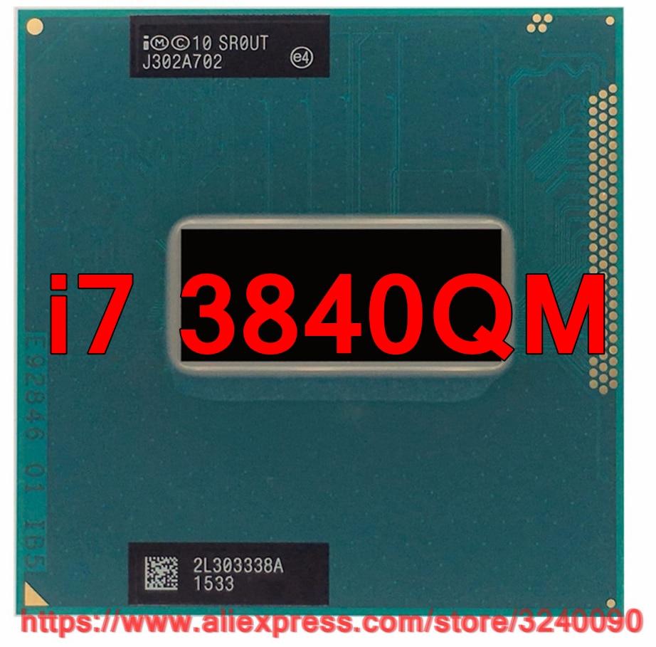 Original lntel Core i7 3840qm SR0UT CPU 8M Cache 2 8GHz 3 8GHz Quad Core i7
