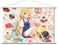 Home Decor Japan Poster Wall Scroll Idolmaster Anzu Futaba CINDERELLA GIRLS a