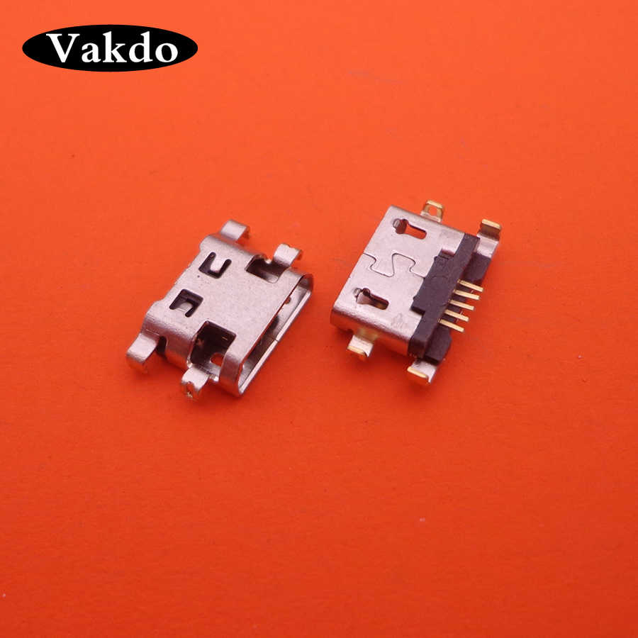 5x Keyboard C7 Baru Mikro Mini USB Jack Soket Konektor Dock Charger Pengisian Port Plug wanita