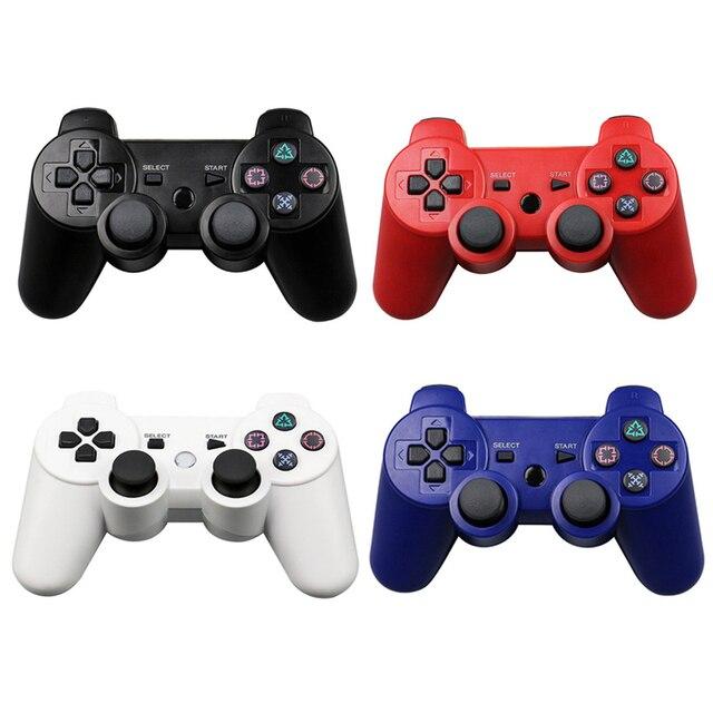 سماعة لاسلكية تعمل بالبلوتوث غمبد لسوني PS3 تحكم بلاي ستيشن 3 وحدة التحكم Dualshock عصا التحكم في اللعبة Joypad غمبد عن بعد