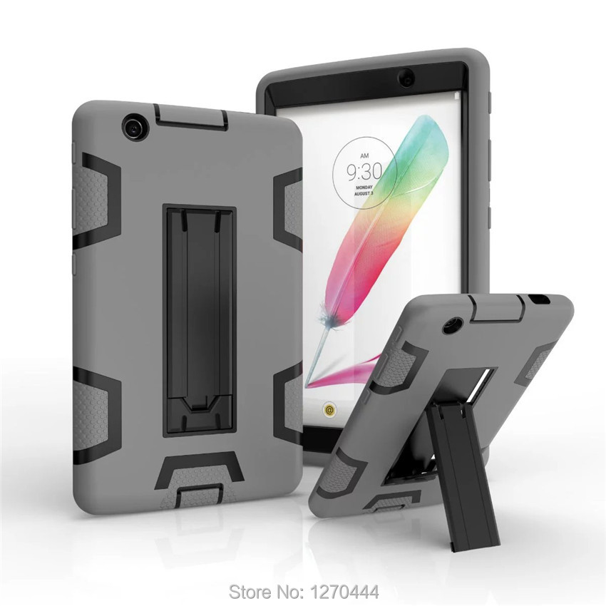 Retina Kids Baby Safe Armor Shockproof Heavy Duty Silicone Hard Cover For LG G Pad 3 iii 8.0 V525 V521 V520 Gpad3 GPAD X 8.0''