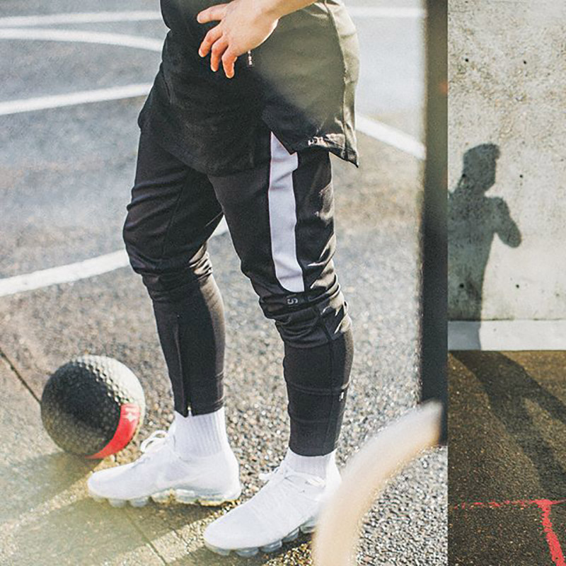 New Fashion Streetwear Pants Men Black Joggers Men Fitness Sweatpants Bodybuilding Track Pants Sportswear Trousers Casual Pants ...