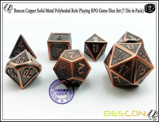 cobre rpg rpg role playing jogo de dados 7 peças conjunto D4-D20
