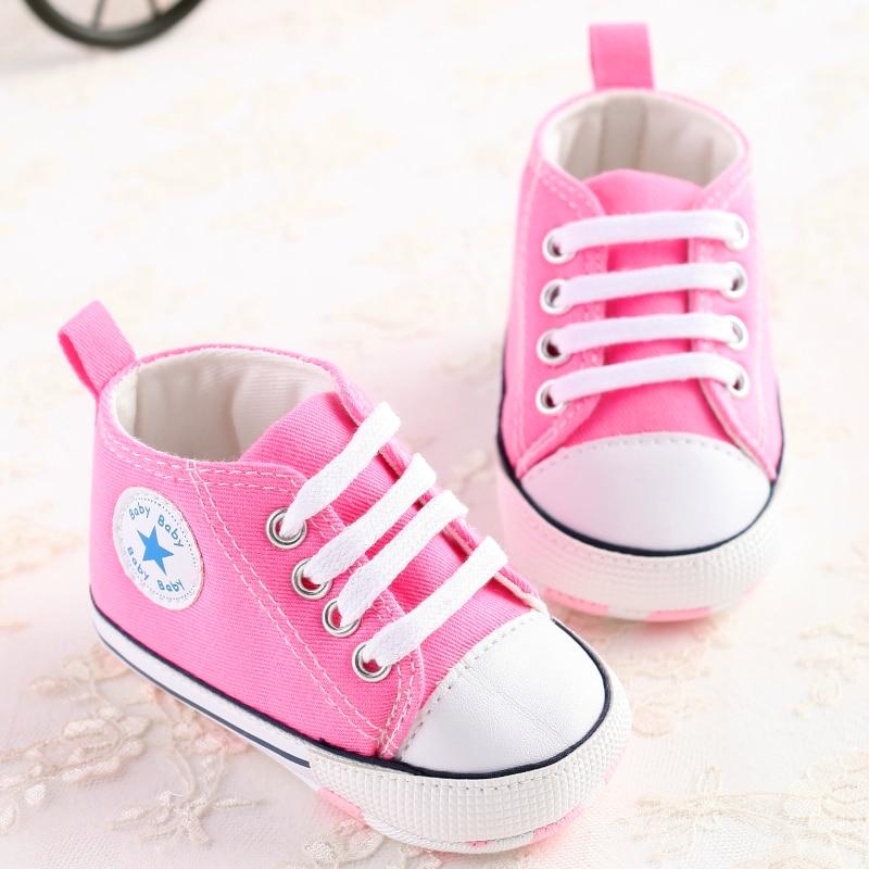 cb7f40708f6 Newborn firstwalker Anti slip Infant Shoes Footwear star converse Baby  Moccasins Tassel Unisex Newborn Baby Shoes First Walkers-in First Walkers  from Mother ...