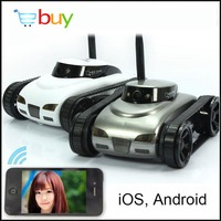 Mini Wifi Robot Camera RC Tank APP Real time Controlled by IOS Android Smart Device for Children Kis Remote Control Toys Gifts