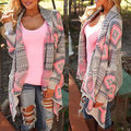 NEW Women Long Sleeve Knitted Cardigan Loose Sweater Outwear Jacket Thick Coat