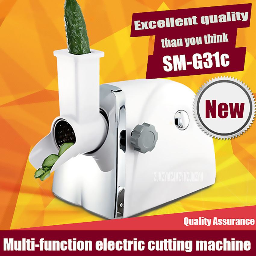1PC New SM-G31c Household Slicer multi-function electric cutting slicing Machine cooking food Processor Hot 1pc multi function 565 electric household sewing machine desktop overcastting thick