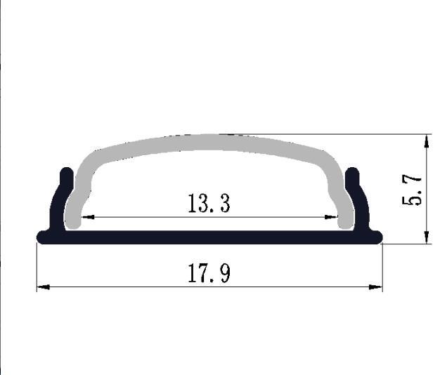 nemokamai Pristatymas lenkiamas LED juosta Aliuminio profilis su - LED Apšvietimas - Nuotrauka 4