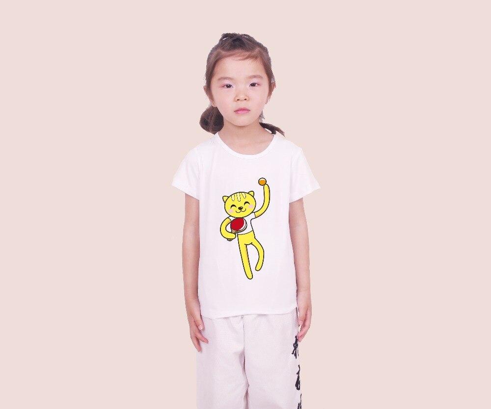 La MaxPa 2018 Лето Тутти Кати Животные show MOE стиль pucca топы для детей футболка детская футболка с коротким рукавом S41108