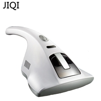 JIQI Household Handheld Vacuum Cleaners Home Bed Dust Mite Vacuum UV Mites Killing