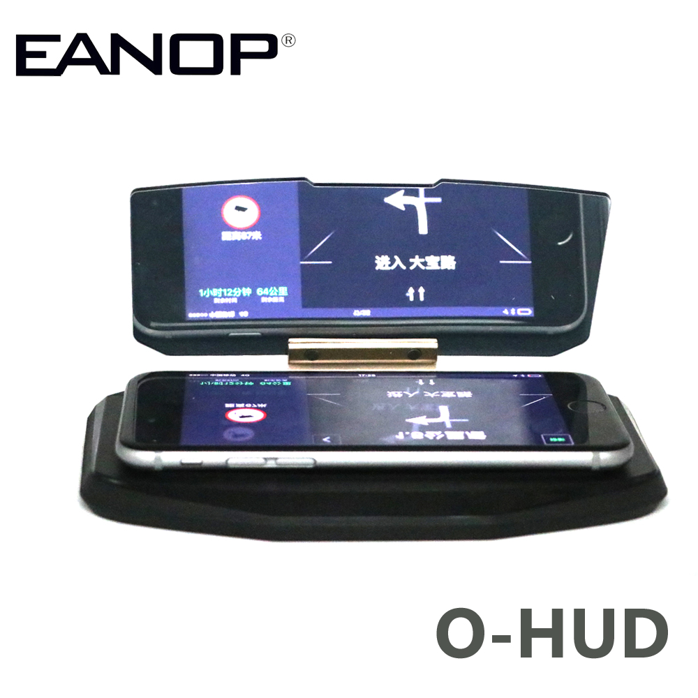 EANOP O-HUD HUD Head-Up-Display LED-Autoprojektor GPS-Halter