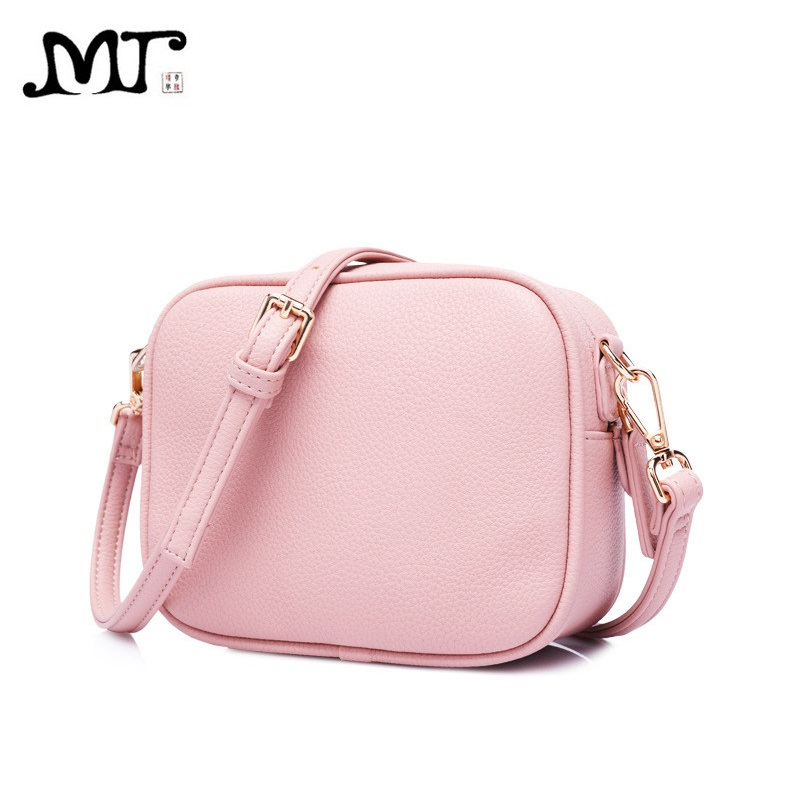 MJ Women Messenger Bags PU Leather Female Crossbody Bag Small Shoulder Bag for Girls Solid Mini Shoulder Handbag Teenager Bags fashion women messenger bag mini handbag female shoulder bags vintage canvas tote satchels school bag small crossbody bag